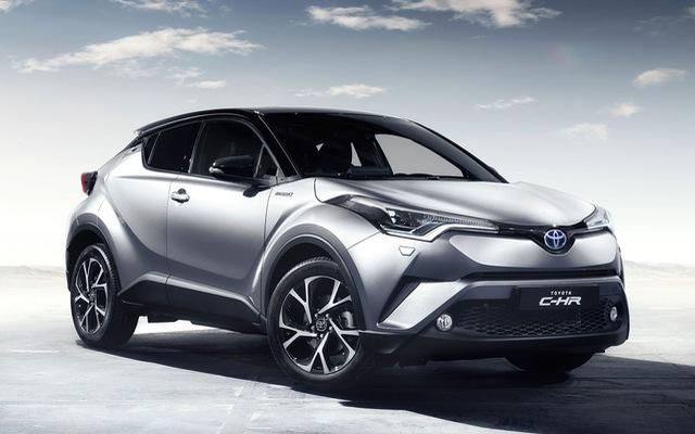 Mẫu crossover cỡ nhỏ Toyota C-HR chỉ tiêu thụ trung bình 3,6 lít/100 km