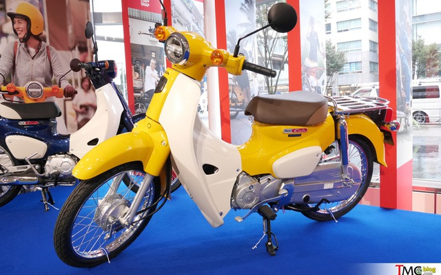 Chiêm ngưỡng phiên bản mới của huyền thoại Honda Super Cub tại đại lý