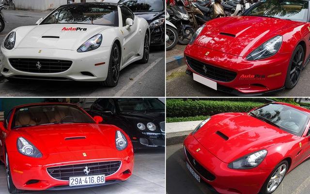 Số phận lận đận của 4 siêu xe Ferrari California tại Việt Nam