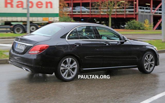 Mercedes-Benz C-Class bản nâng cấp mới lộ diện