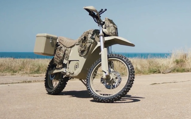 Nhà sản xuất súng AK-47 ra mắt mô tô cho lực lượng vũ trang
