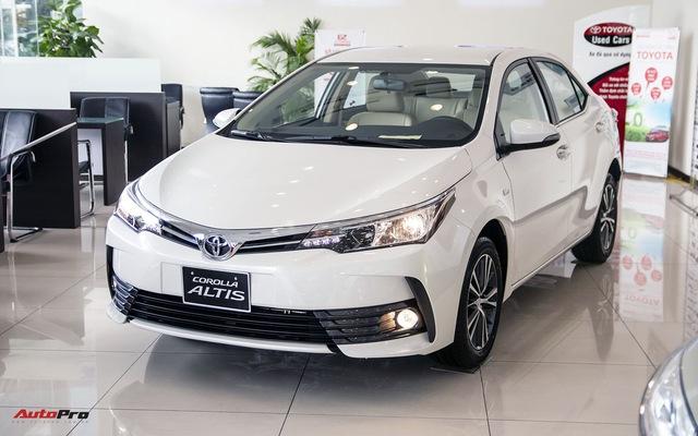 Bước chuyển mình của Toyota Corolla Altis với phiên bản 2018