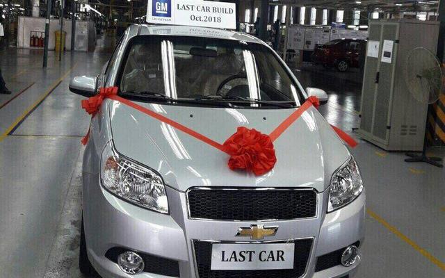 Chiếc Chevrolet cuối cùng xuất xưởng, một kỷ nguyên mới của xe GM tại Việt Nam sắp mở ra dưới thời VinFast phân phối