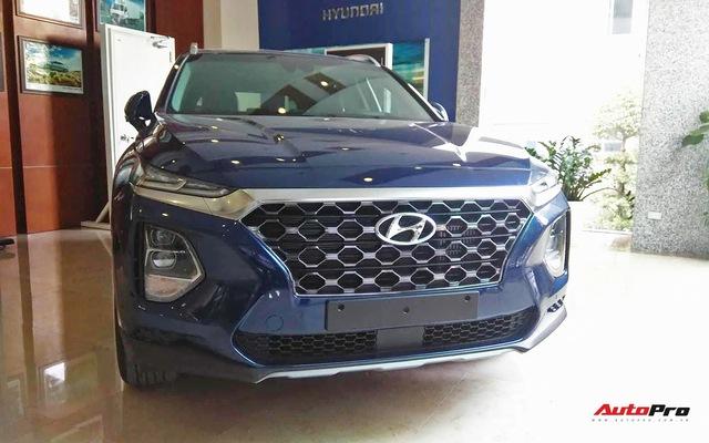Lộ thông số Hyundai Santa Fe 2019 trước ngày ra mắt tại Việt Nam