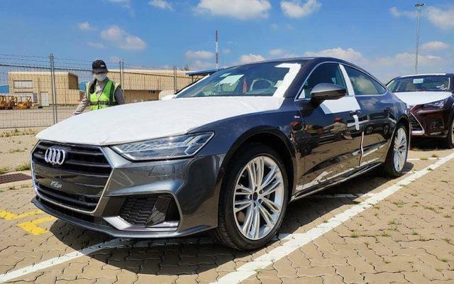 Audi A7 Sportback 2018 đầu tiên cập cảng Việt Nam: Đối trọng của BMW 6-Series Gran Coupe