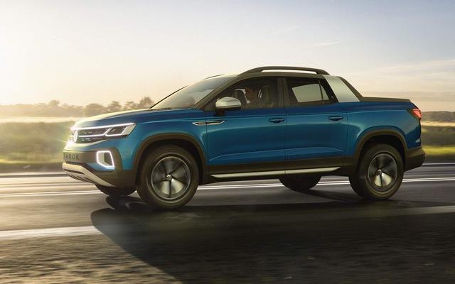 Ra mắt Volkswagen Tarok - Bán tải đẹp và xịn tới mức khó chê