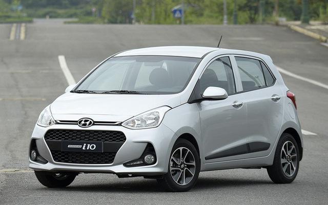 Hyundai Grand i10 thêm cân bằng điện tử, giá trên 390 triệu đồng