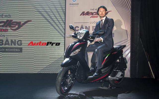 Quyết đấu Honda SH, Piaggio Medley ABS 2018 giá từ 72,5 triệu đồng