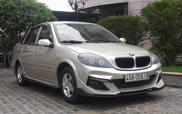 Dân chơi Lâm Đồng độ xe Trung Quốc chục năm tuổi kiểu BMW