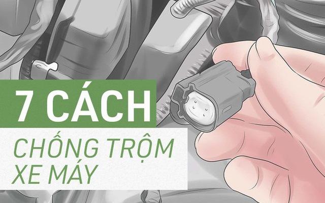 [Photo Story] Trước khi cần tới Hiệp sỹ đường phố, chính bạn hãy bảo vệ xe của mình