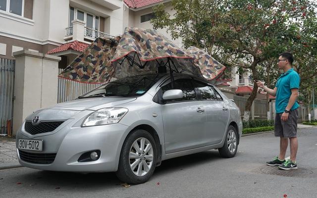 Dùng thử ô che nắng xe hơi - Giải pháp chống cháy cho mùa hè oi bức đã thực sự đến từ hôm nay