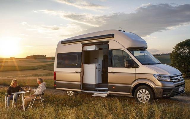 Volkswagen Grand California - Chiếc van thiết kế như ngôi nhà di dộng, có đầy đủ từ phòng ngủ, bếp ăn đến toilet