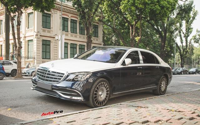 Đại gia Hà thành sắm Mercedes-Maybach S560 4Matic đầu tiên Việt Nam
