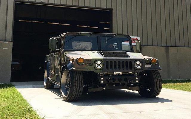 Mil-Spec Hummer H1 Track Titan: Quái vật 900 mã lực trên đường đua