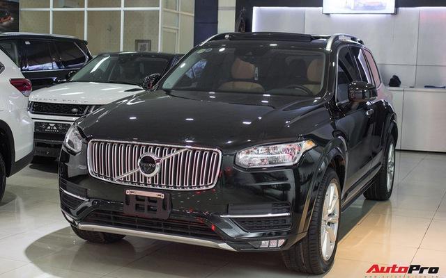Volvo XC90 T6 lăn bánh hơn 27.000km được rao bán lại giá 3,1 tỷ đồng