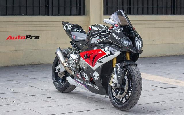 Siêu mô tô BMW S1000RR đời 2014 rao bán lại giá ngang Hyundai Grand i10