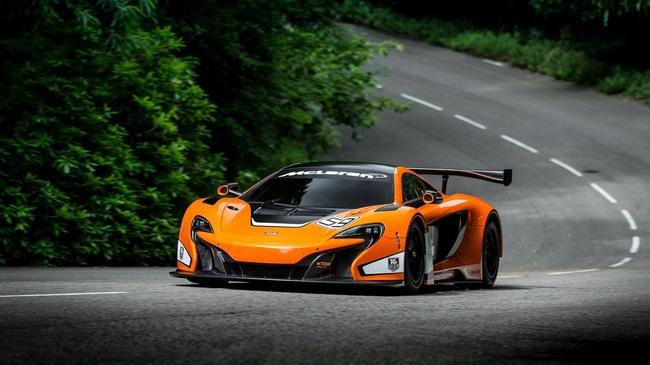McLaren trình làng siêu xe đua 650S GT3