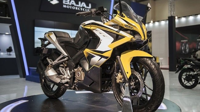 Khám phá môtô Bajaj Pulsar nhanh nhất từ trước đến nay