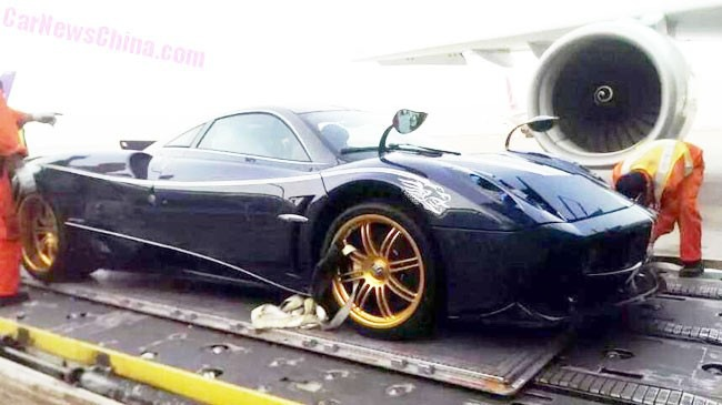 Siêu xe Pagani Huayra phiên bản rồng đặt chân đến Trung Quốc