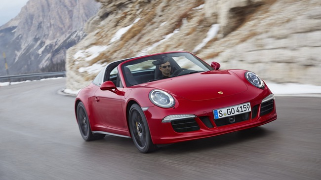 Porsche 911 Targa 4 GTS trình làng tại Detroit Auto Show