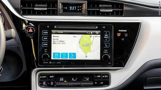 Hệ thống định vị vệ tinh là tính năng thừa thãi nhất trên ô tô