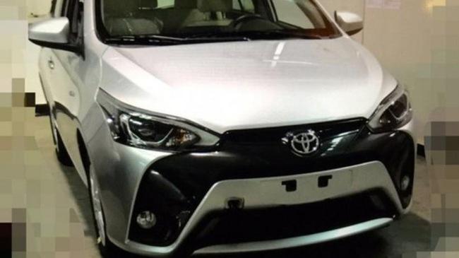"""Rò rỉ ảnh """"nóng"""" của Toyota Yaris L 2016 với thiết kế """"đáng sợ"""""""