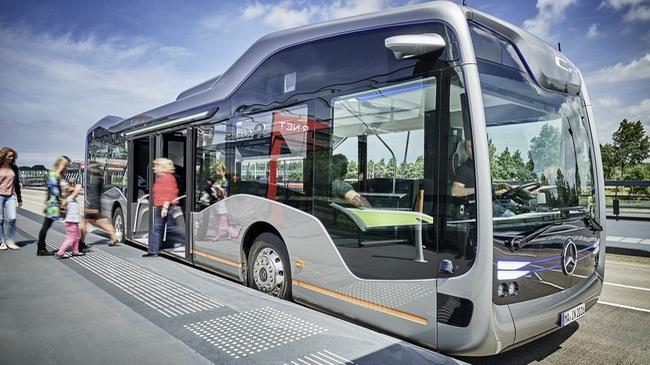 Future Bus CityPilot - Xe buýt tràn ngập công nghệ của Mercedes-Benz