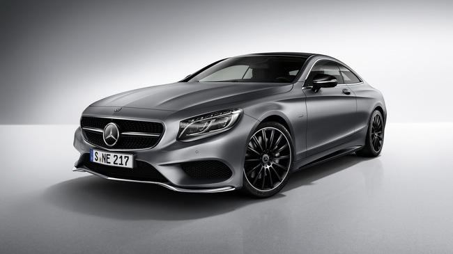 """Mercedes-Benz bổ sung phiên bản """"bóng đêm"""" cho S-Class Coupe"""