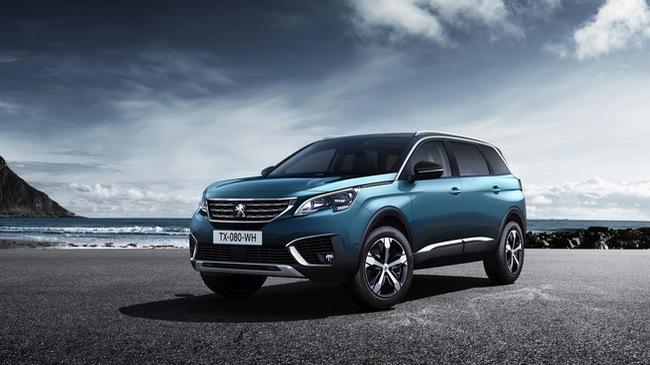 Peugeot 5008 2017 - Đối thủ mới của Honda CR-V và Mazda CX-5