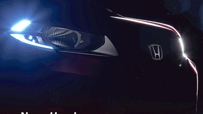 Honda WR-V, đối thủ của Ford EcoSport, tiếp tục lộ diện