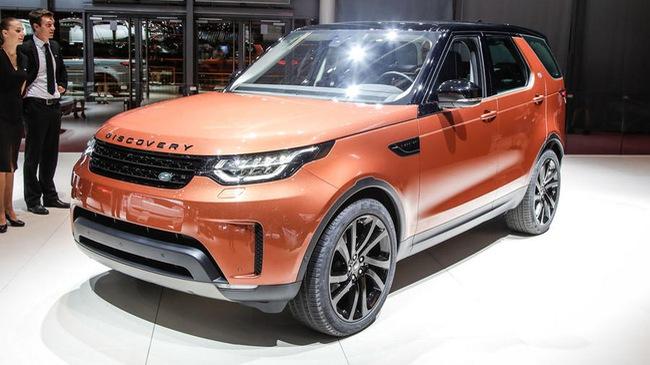 """Chiêm ngưỡng """"SUV gia đình tốt nhất"""" Land Rover Discovery 2018 ngoài đời thực"""