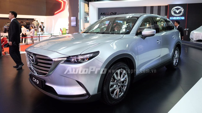 """""""Mục sở thị"""" crossover 7 chỗ """"hàng hot"""" Mazda CX-9 2016 tại Việt Nam"""