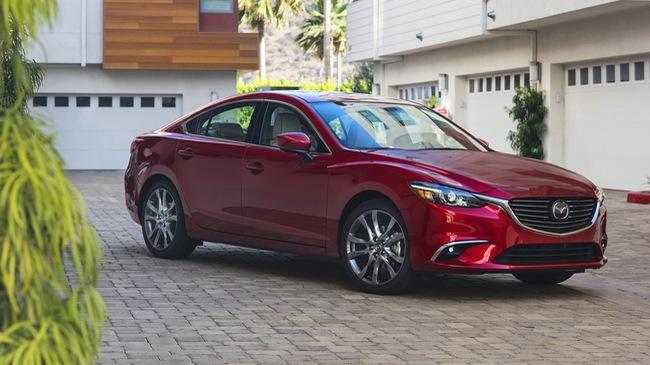 Mazda6 2017 - đối thủ của Toyota Camry - được chốt giá