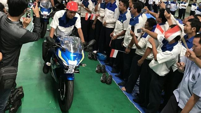 Những chiếc Suzuki GSX-R150 đầu tiên chính thức xuất xưởng
