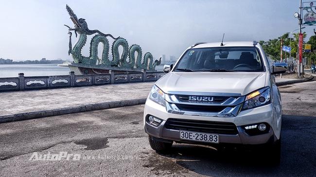 Thử nghiệm Isuzu MU-X - xe SUV mang chất xe tải