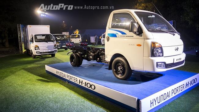 Hyundai Thành Công ra mắt xe tải nhẹ Porter H-100, giá 325 triệu Đồng