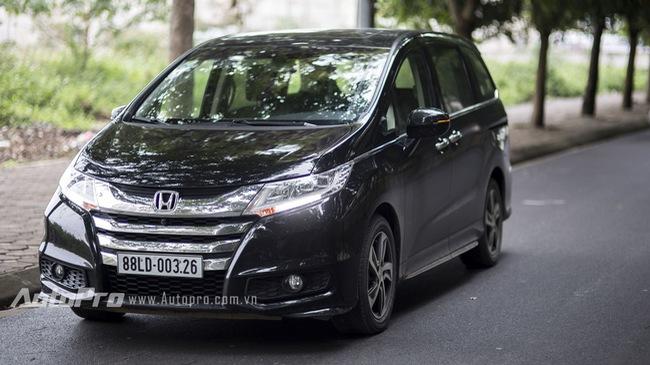 """Honda Odyssey: Thiết kế nhã nhặn, vận hành """"nhàn tênh"""""""