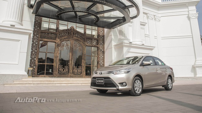 Clip: Đánh giá Toyota Vios 1.5E CVT