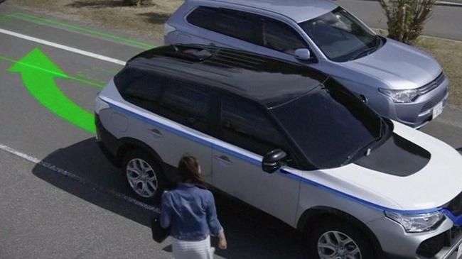 """Xem ô tô tự lái, tự đỗ xe song song trong """"3 nốt nhạc"""""""