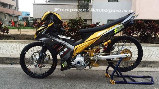 Ngắm Exciter 135 độ hết 50 triệu của một biker Gia Lai 1