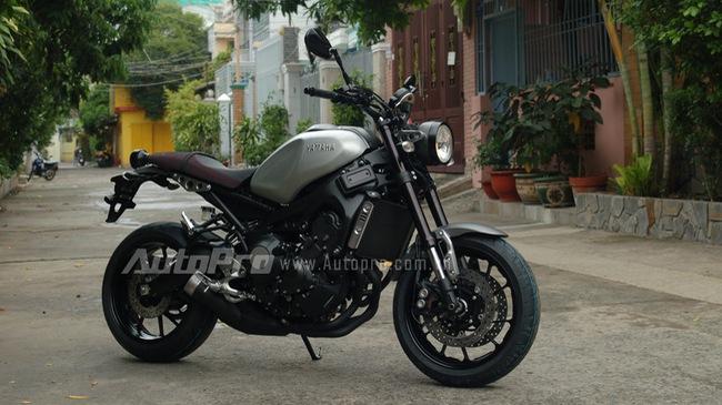 Hàng hot Yamaha XSR900 2016 đầu tiên cập bến Việt Nam, giá từ 390 triệu Đồng