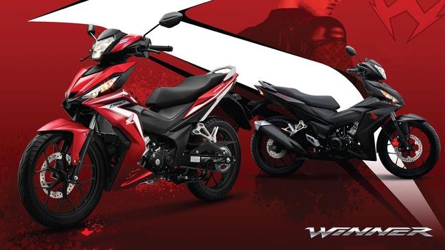 Honda Việt Nam giới thiệu WINNER 150 2017, giá không đổi