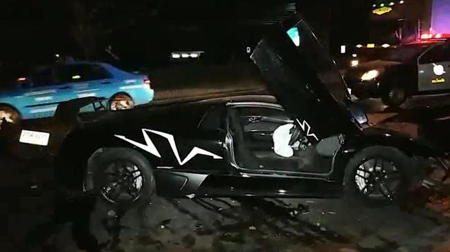 Lại thêm siêu xe Lamborghini Murcielago SV gây tai nạn kinh hoàng