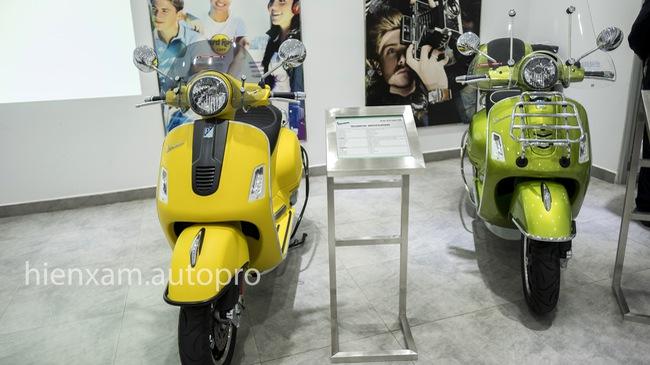 Vespa GTS trình làng khách Việt với 3 phiên bản 125cc, 150cc và 300cc