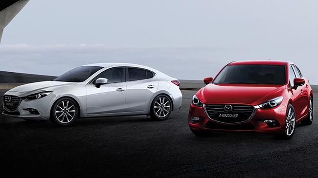 Mazda3 2017 chính thức ra mắt Đông Nam Á với giá 542 triệu Đồng