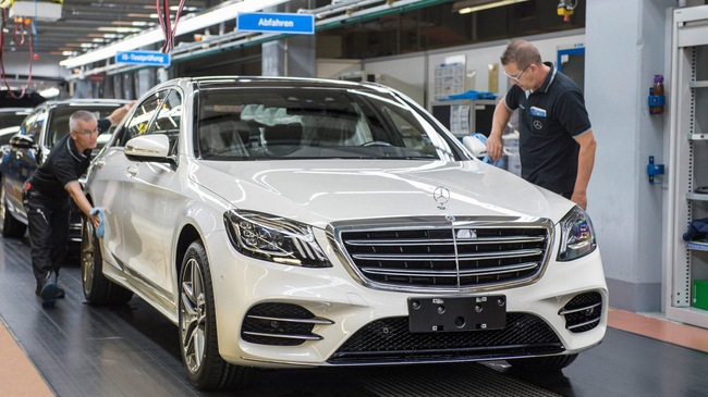 Mercedes S-Class 2018 chốt ngày ra mắt tại Việt Nam