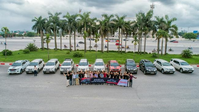 Câu lạc bộ những người chơi xe Isuzu Mu-X lần đầu gặp gỡ tại Hà Nội