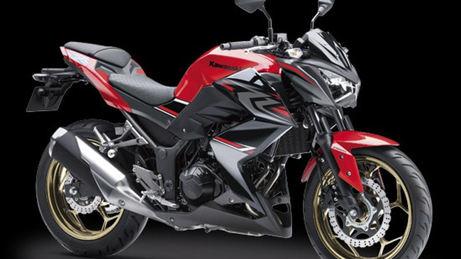 Kawasaki tung ra phiên bản mới của dòng naked bike Z250 ABS