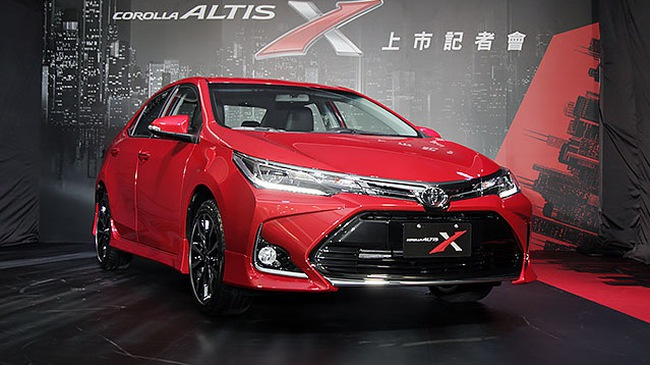 Diện kiến Toyota Corolla Altis 2017 với thiết kế khác xe mới ra mắt Việt Nam