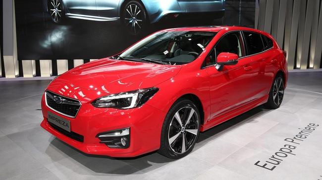 Subaru Impreza 2018: Rộng rãi và an toàn hơn